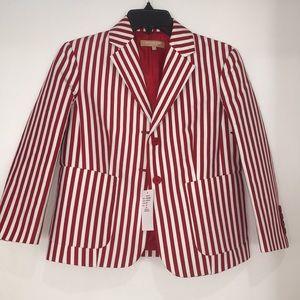 NEW Michael Kors Collection stripe blazer  2